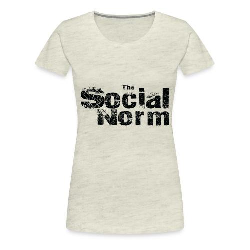 The Social Norm Official Merch - Women's Premium T-Shirt