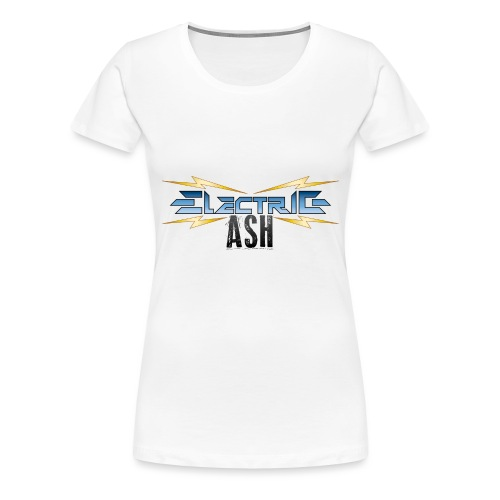 Electric Ash Logo - Main - Transparent Background - Women's Premium T-Shirt