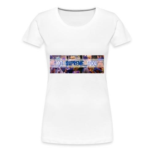 XXI SUPREME GOKU LOGO 2 - Women's Premium T-Shirt
