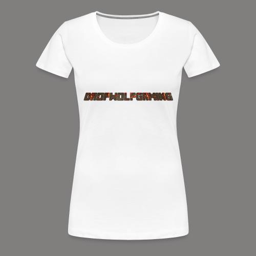 DropWolfGaming - Women's Premium T-Shirt