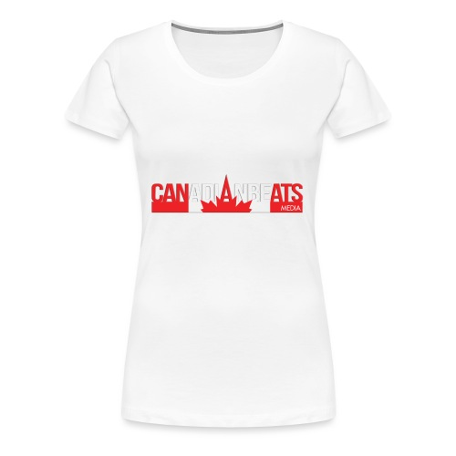 Canadian Beats Logo - Women's Premium T-Shirt