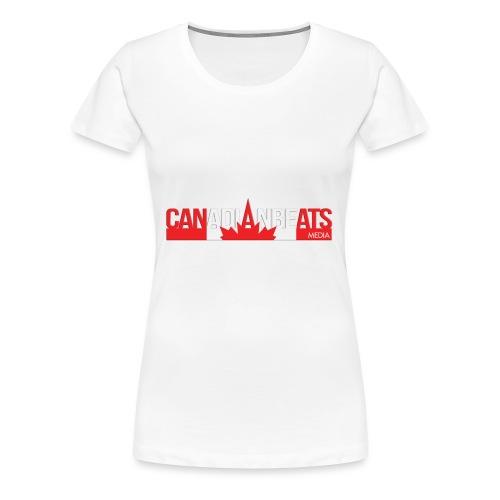Canadian Beats Logo - Women's Premium T-Shirt