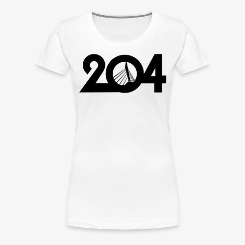 204 T-Shirt - Women's Premium T-Shirt