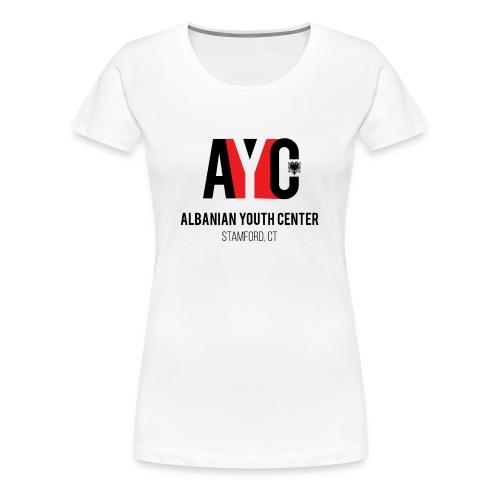 Albanian Youth Center - Women's Premium T-Shirt