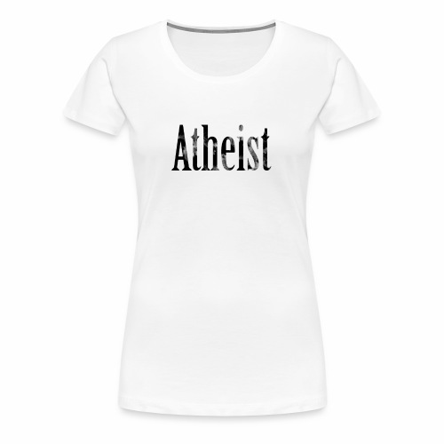 Faded Atheist - Women's Premium T-Shirt