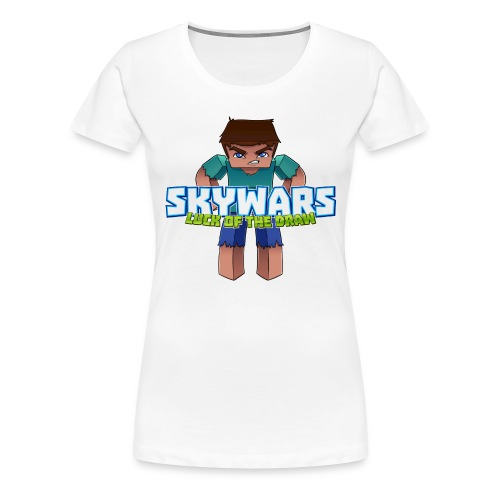 SKY with Text png - Women's Premium T-Shirt