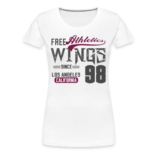 Athletics wings - Women's Premium T-Shirt