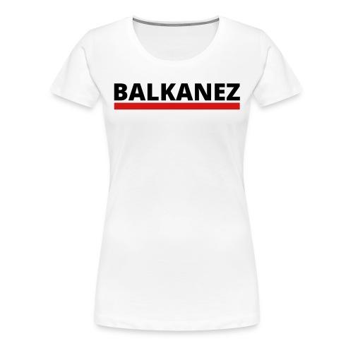 BALKANEZ BLACK - Women's Premium T-Shirt