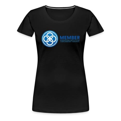 IICT Member Logo - Women's Premium T-Shirt