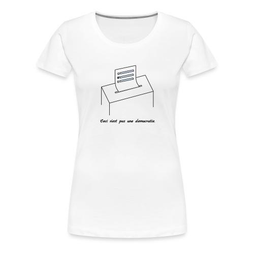 La trahison des choix - Women's Premium T-Shirt
