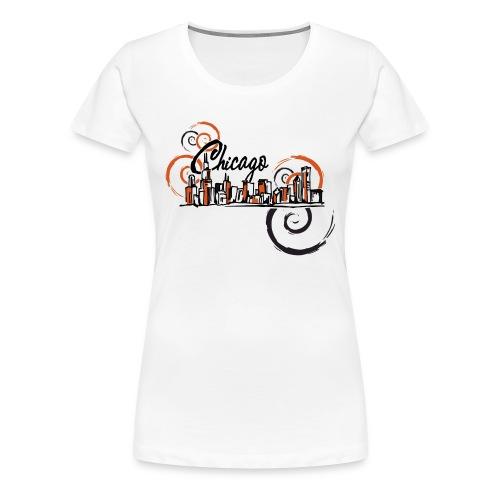 Chicago_Logo - Women's Premium T-Shirt
