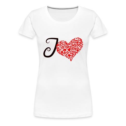 I Love... - Women's Premium T-Shirt
