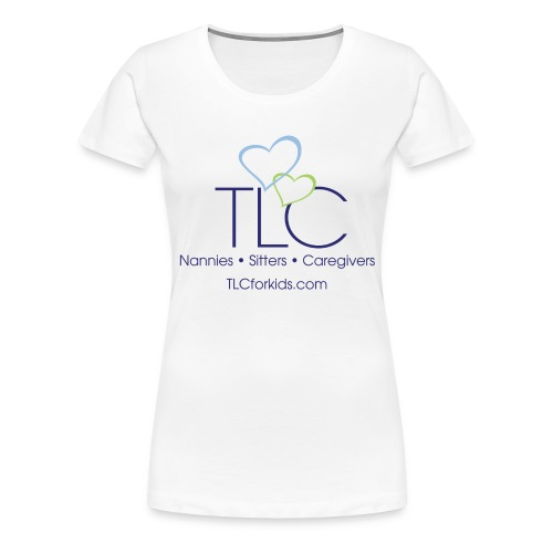 TLC color logo for WHITE SHIRTS ONLY - Women's Premium T-Shirt