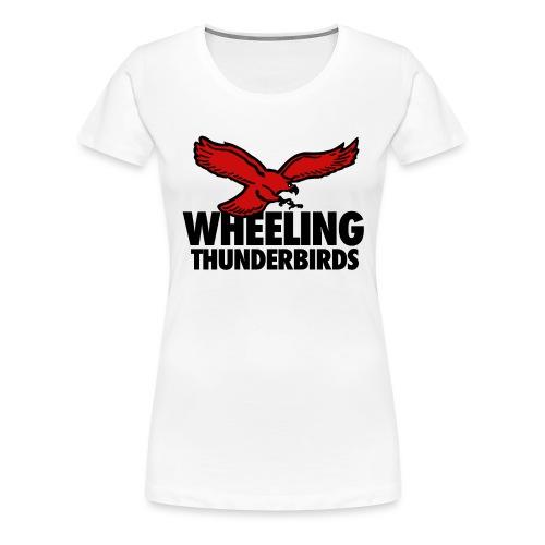 Wheeling Thunderbirds - Women's Premium T-Shirt