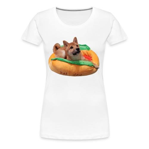 hot doge - Women's Premium T-Shirt