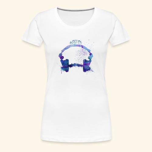 Boston skyline - Women's Premium T-Shirt