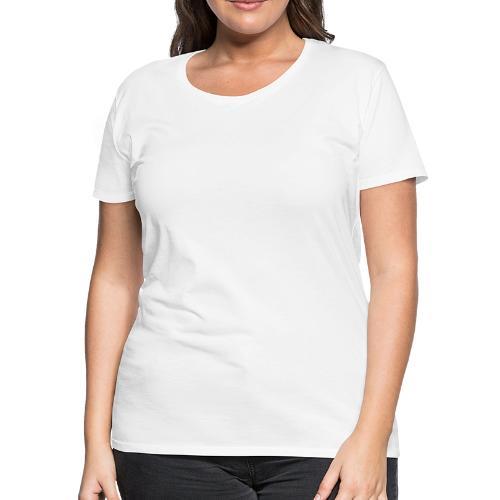 Semi-automatic Handgun Silhouette - Women's Premium T-Shirt