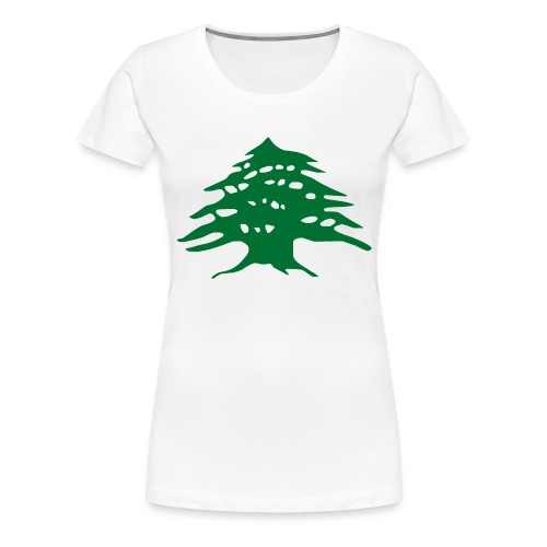 Lebanese Pride Shirt - Women's Premium T-Shirt