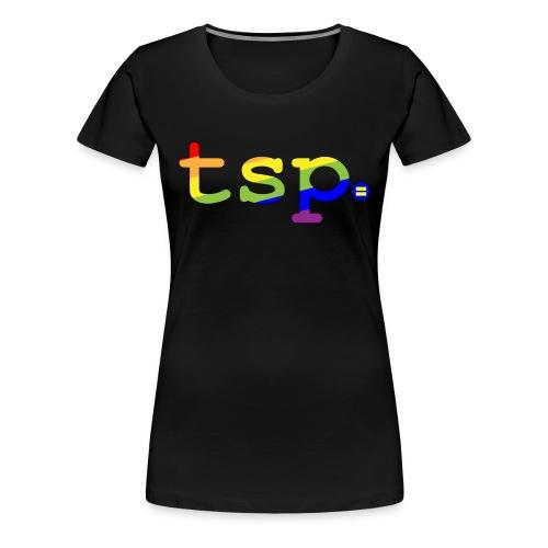 tsp pride updated 01 - Women's Premium T-Shirt