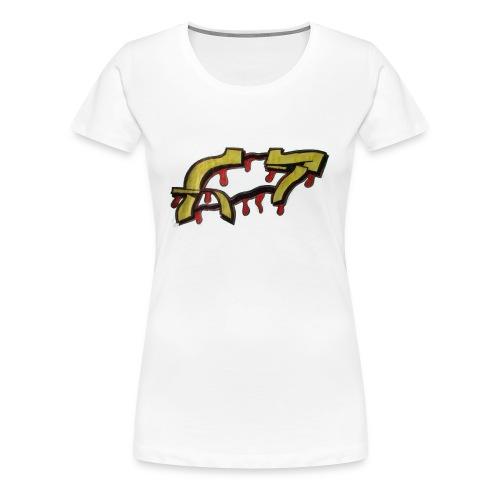 ST graffiti - Women's Premium T-Shirt