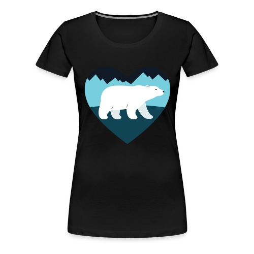 Polar Bear Love - Women's Premium T-Shirt