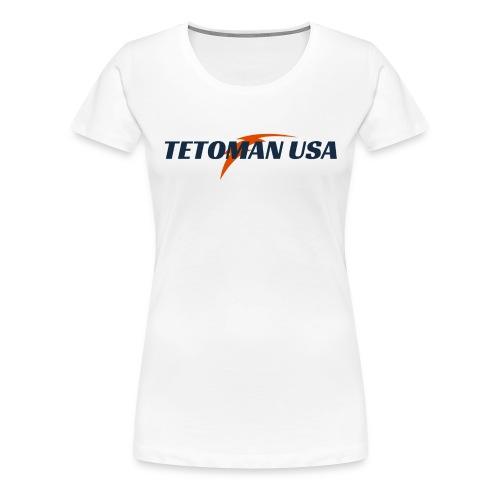 Tetoman USA! No Exceptions!!! - Women's Premium T-Shirt