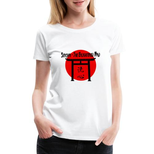 Senshin: The Enlightened Mind - Women's Premium T-Shirt