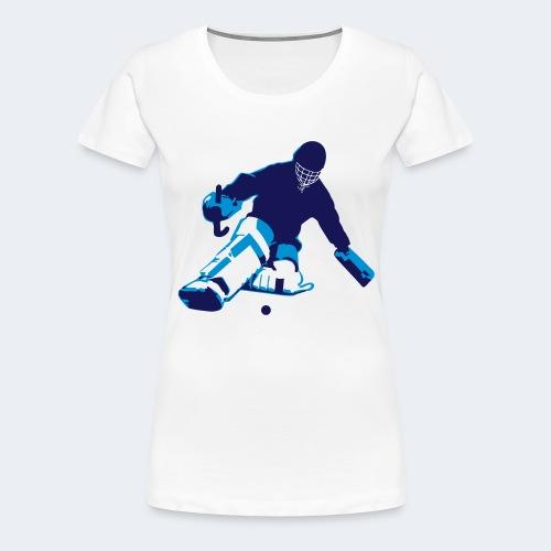 Goalie - Women's Premium T-Shirt