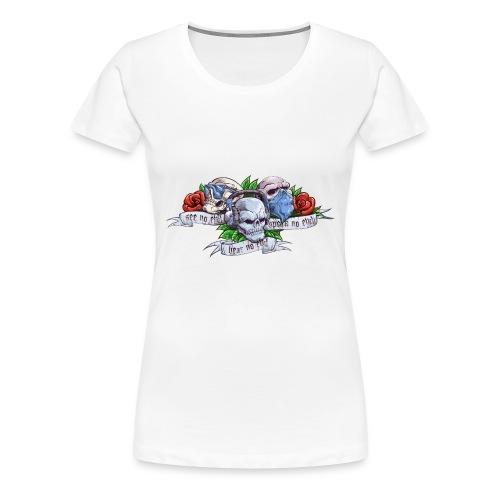The Evils Color Logo - Women's Premium T-Shirt