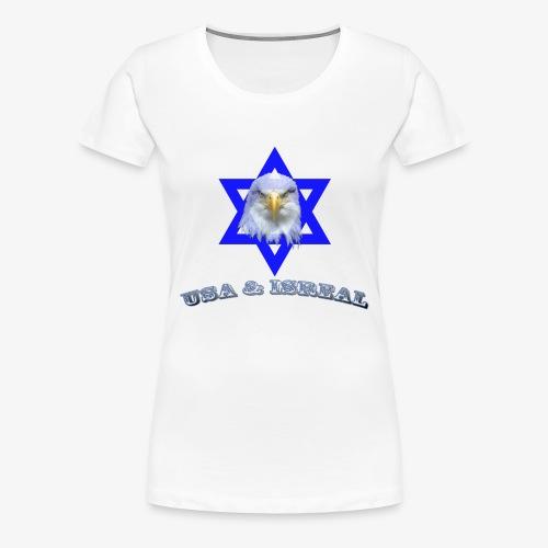 USA & ISREAL - Women's Premium T-Shirt