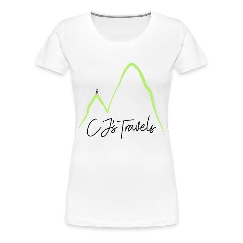 CJ s Travels Secondary - Women's Premium T-Shirt
