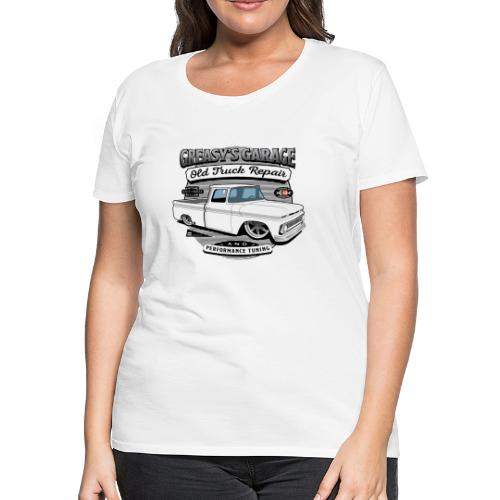 Greasy's Garage Old Truck Repair - Women's Premium T-Shirt