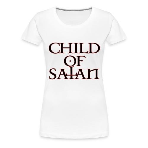 Child Of Satan - Women's Premium T-Shirt