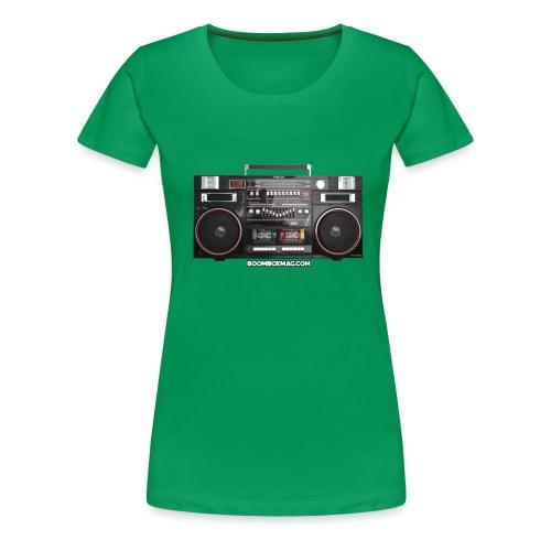 Helix HX 4700 Boombox Magazine T-Shirt - Women's Premium T-Shirt