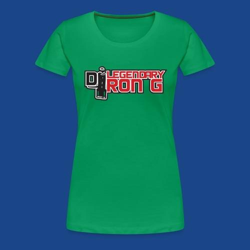 Ron G logo - Women's Premium T-Shirt
