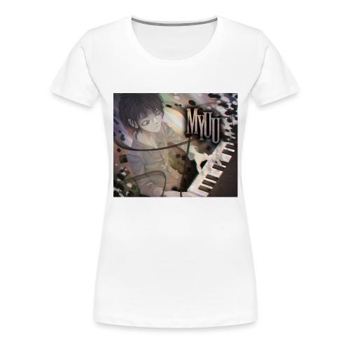 Dark Piano 1 - Women's Premium T-Shirt