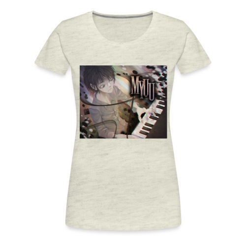 Dark Piano 1 - Women's Premium T-Shirt