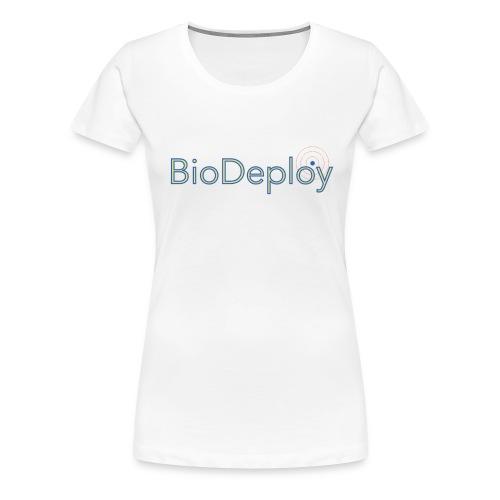 BioDeploy Logo Blue Mix - Women's Premium T-Shirt
