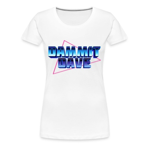 Retro Logo - Women's Premium T-Shirt