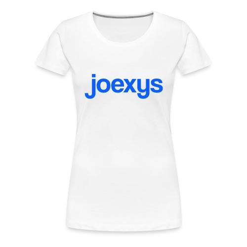joexys_blue - Women's Premium T-Shirt