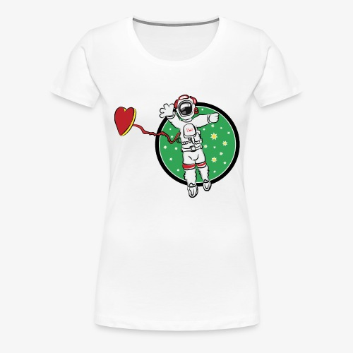 SMR spaceman tshirt - Women's Premium T-Shirt