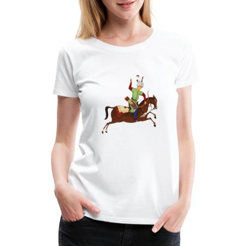 Mounted archery - Women's Premium T-Shirt