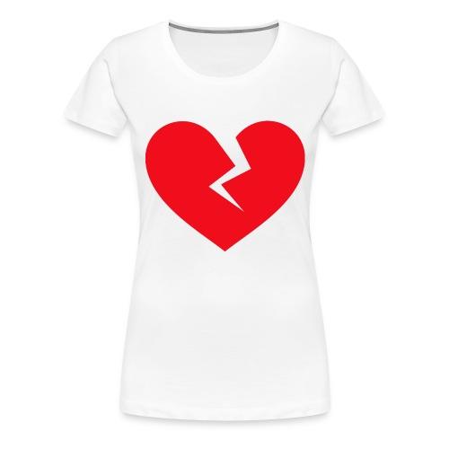 Broken Heart - Women's Premium T-Shirt