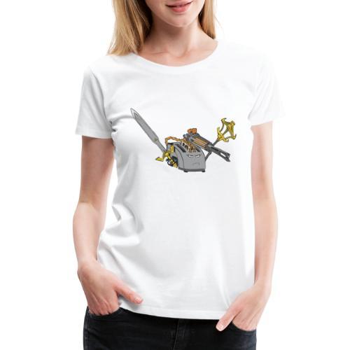 Super Toaster Flat - Women's Premium T-Shirt