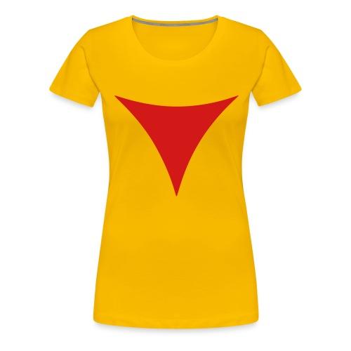 SWTOR Dark Side Points 1-Color - Women's Premium T-Shirt