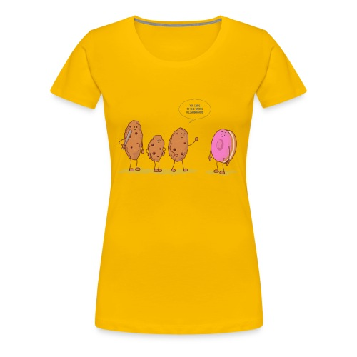 cookies - Women's Premium T-Shirt