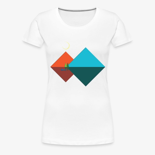 Paper Moon - Women's Premium T-Shirt