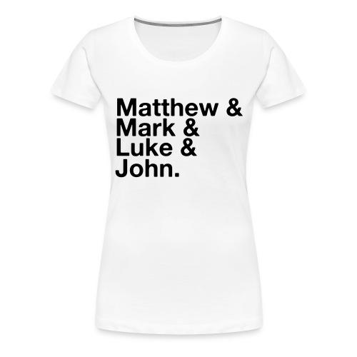 Gospels - Women's Premium T-Shirt