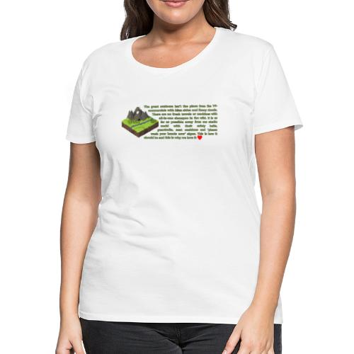 Loving Nature - Women's Premium T-Shirt
