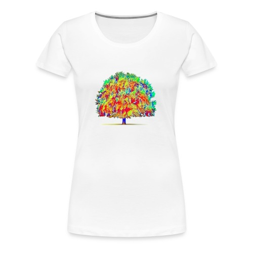 colorful tree - Women's Premium T-Shirt